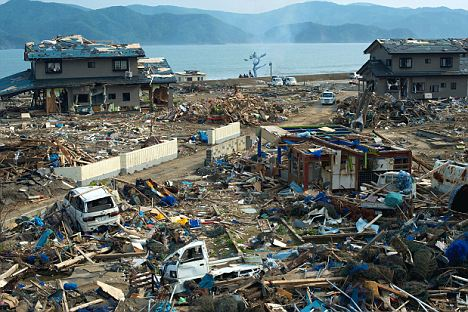 onegawa port in tohoku after the tsunami, as bad today in june as it was in march..